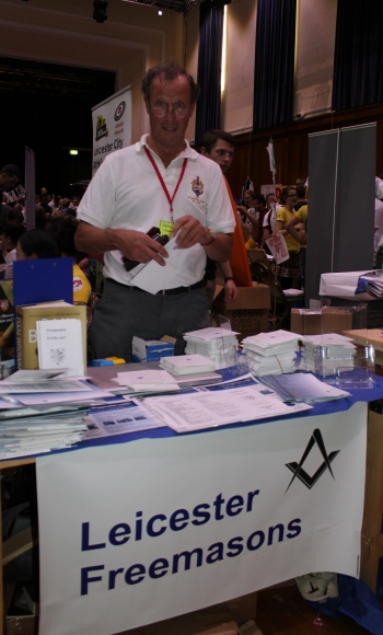 The Lodge Stand at Freshers' Fair, University of Leicester
