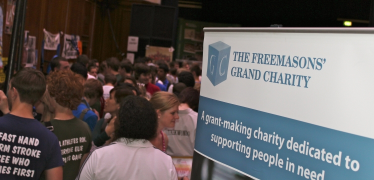 Freshers' Fair at the University of Leicester