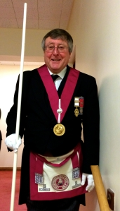 WBro Alan Davis as Provincial Grand Steward