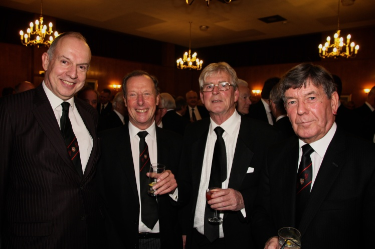Members of the Wyggeston Lodge at the Provincial Grand Lodge of Leicestershire and Rutland Annual Communication