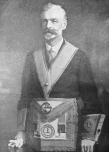 Henry Jinks Grace - The second Master of the Wyggeston Lodge No.3448 in 1911
