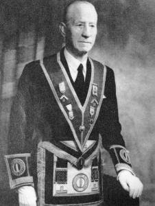 Edgar Ronald Carr – The 22nd Master of the Wyggeston Lodge No.3448 in 1931