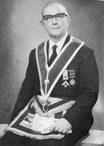 George Henry Moore – The 52nd Master of the Wyggeston Lodge No.3448 in 1961
