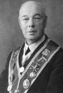 John David Johnson – The third Master of the Wyggeston Lodge No.3448 in 1912